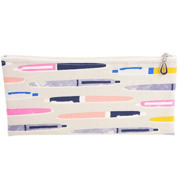 Cotton Pencil Bag - Gray
