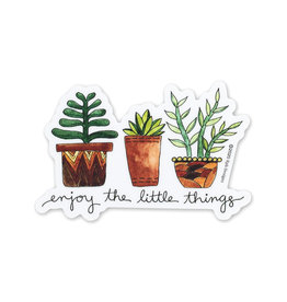 KPB Designs Little Things Plant Sticker