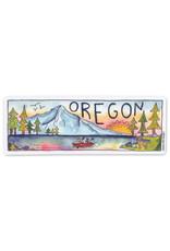 KPB Designs Oregon Rectangle Sticker
