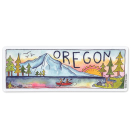 KPB Designs Oregon Rectangle Sticker
