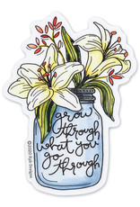 KPB Designs Lillies Grow Through Sticker