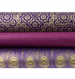 Oblation Papers & Press Color Stories: Purple Wrapping Paper Trio