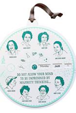 Blackbird Letterpress Women Scientists Perpetual Calendar
