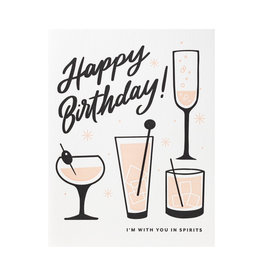 Dahlia Press Happy Birthday Spirits