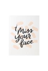 Dahlia Press Miss Your Face