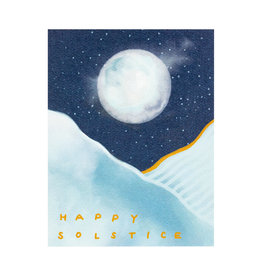 Maija Rebecca Hand Drawn Happy Solstice Greeting Card