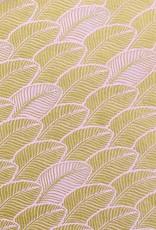 Vivid Gold Leaf on Pink Wrap - 2 XL Sheets
