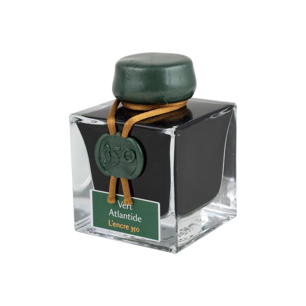 J. Herbin J Herbin 350th Bottled Ink Vert Atlantide 50ml