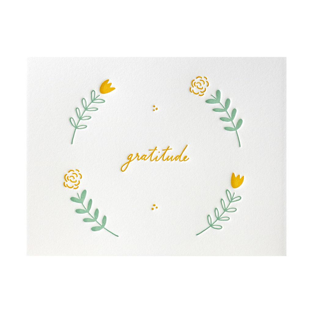 Ink Meets Paper Floral Gratitude Box of 6