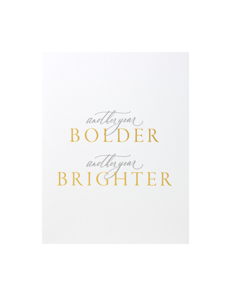 Little Well Paper Co. Another Year Bolder and Brighter