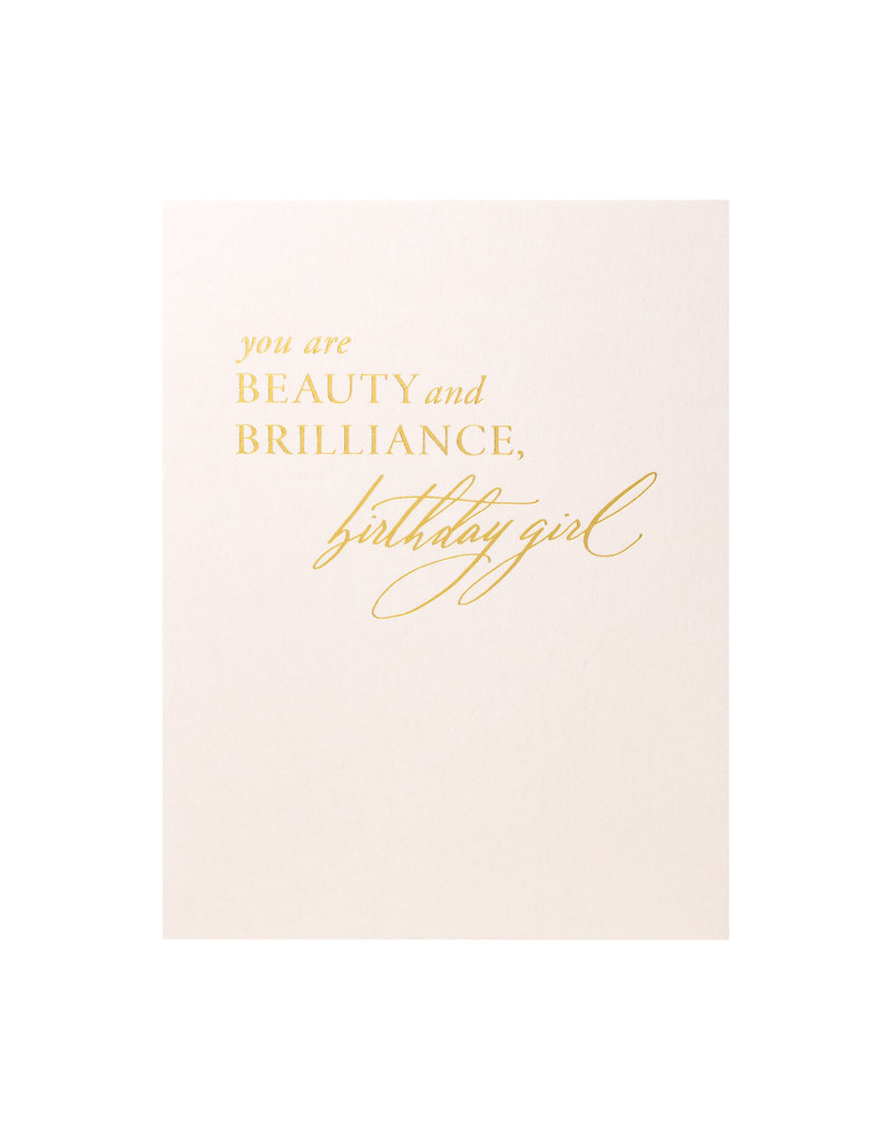 Little Well Paper Co. Beauty Brilliance Birthday