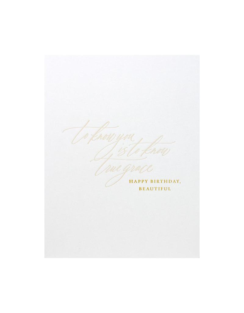 Little Well Paper Co. True Grace Birthday
