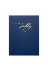 Little Well Paper Co. Navy and Gold Birthday