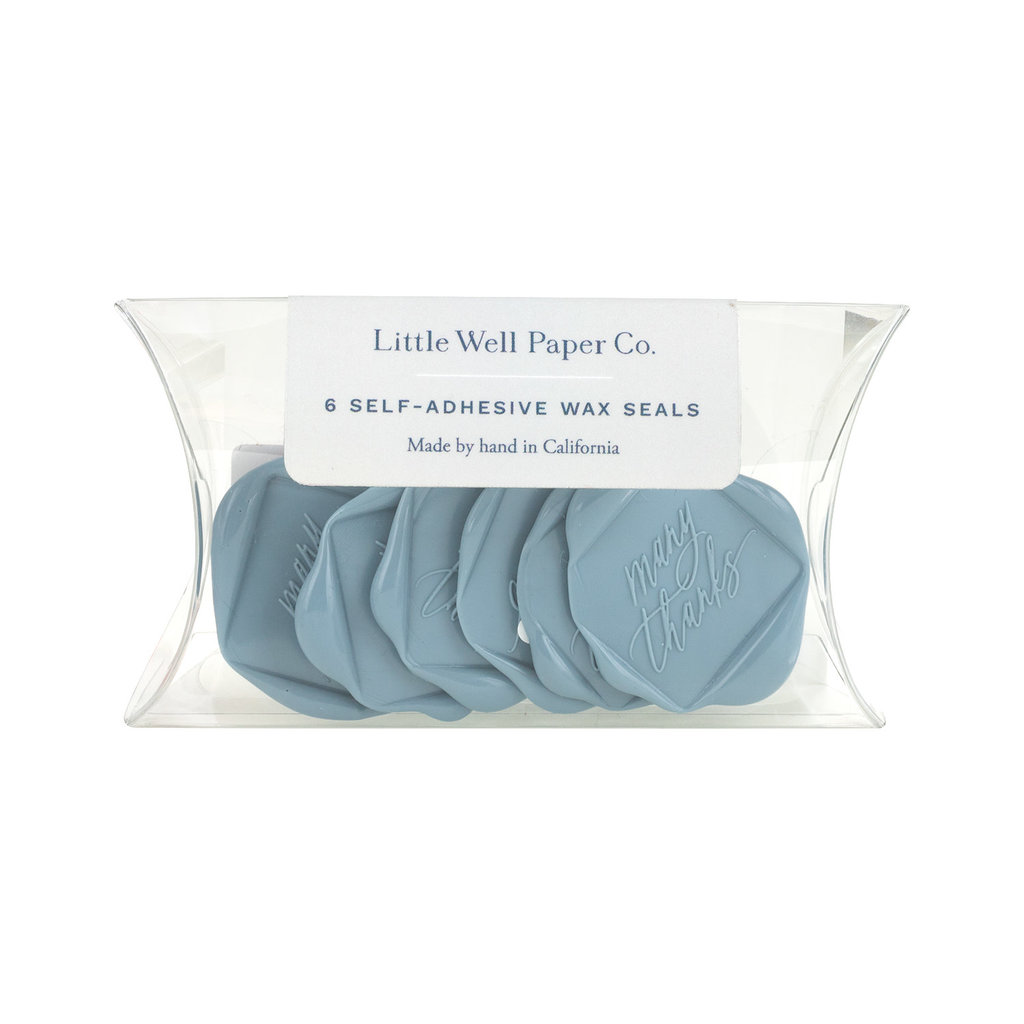 Little Well Paper Co. Many Thanks Wax Seal Set of 6