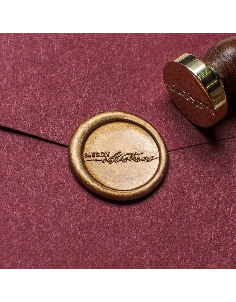Stamptitude Merry Christmas  Wax Seal