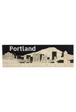 Portland Skyline 8 inch Ruler