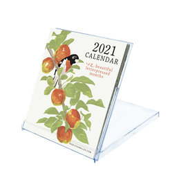 2021 Letterpress Bird Desk Calendar