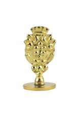 """Freund Mayer Florentine Round Brass Seal Cerif """"I"""""""