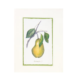 Grace Watercolors Yellow Pear Thanks