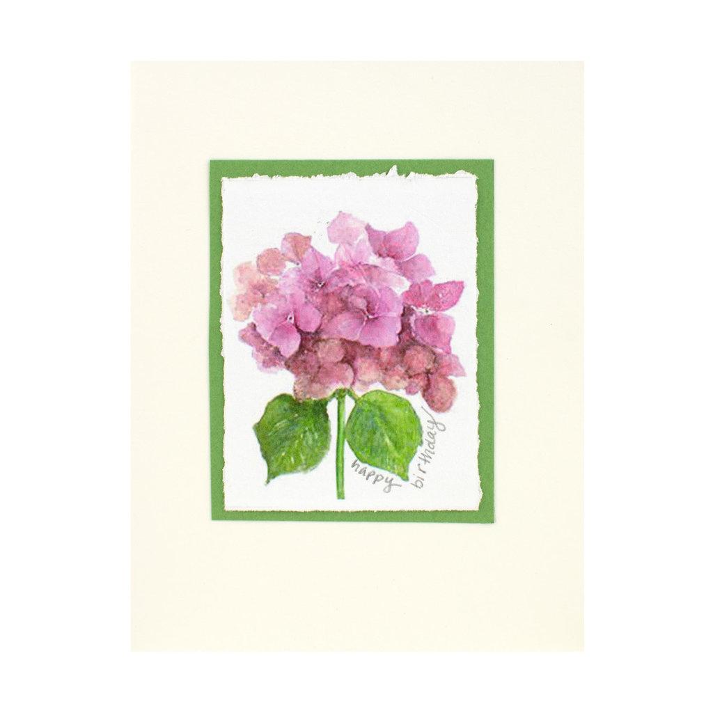 Grace Watercolors Hydrangea Watercolor Birthday