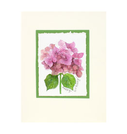 Grace Watercolors Hydrangea Watercolor Birthday