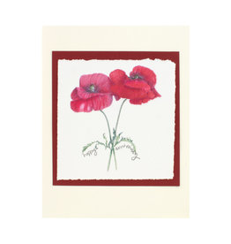 Grace Watercolors Poppy  happy anniversary