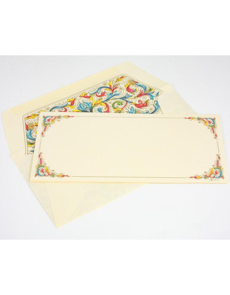Florentia Card Portfolio Long
