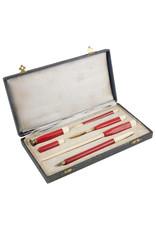 vintage writing implement set