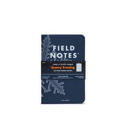 Field Notes Snowy Evening set of 3