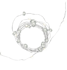 Kikkerland Silver Wire String Lights