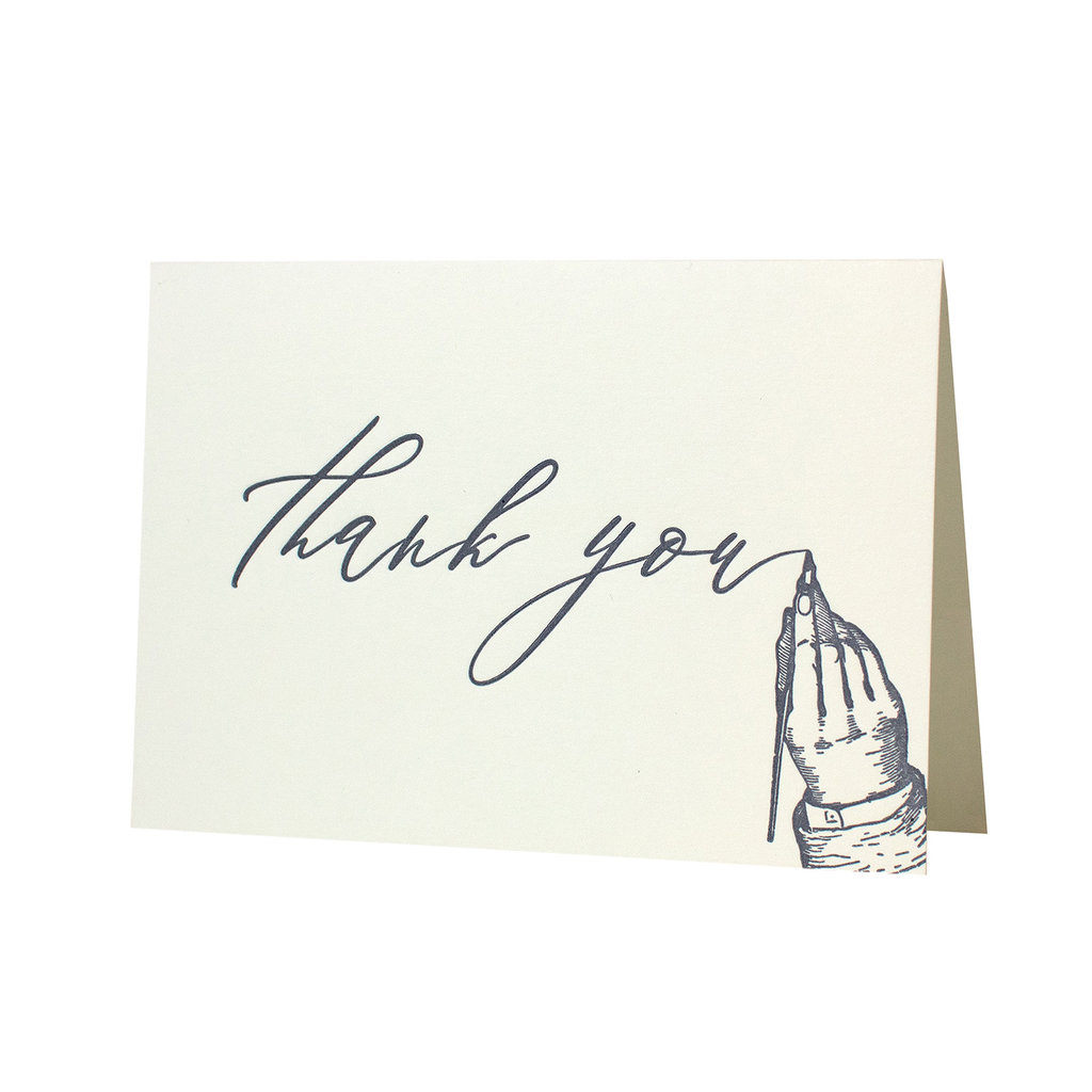 Oblation Papers & Press Handwritten Thank You
