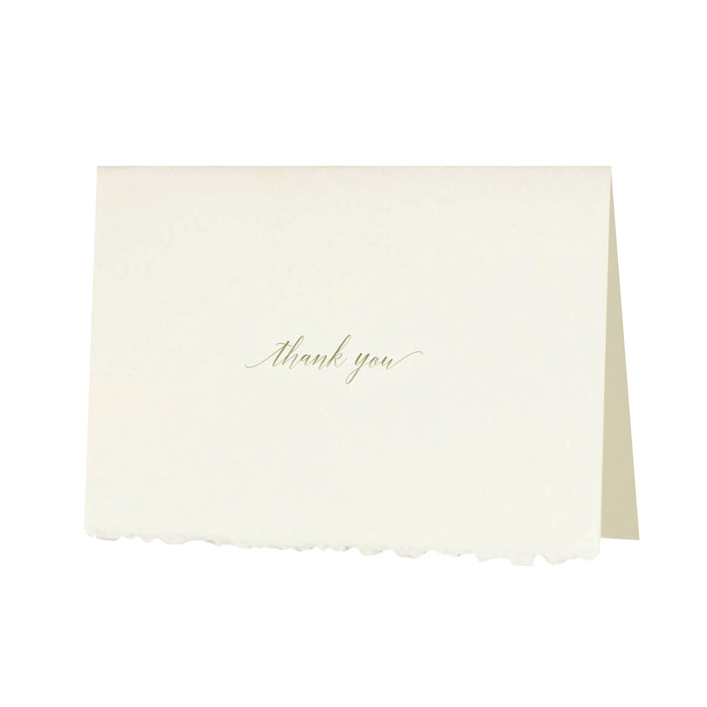 Oblation Papers & Press Glimmer Note Thank You