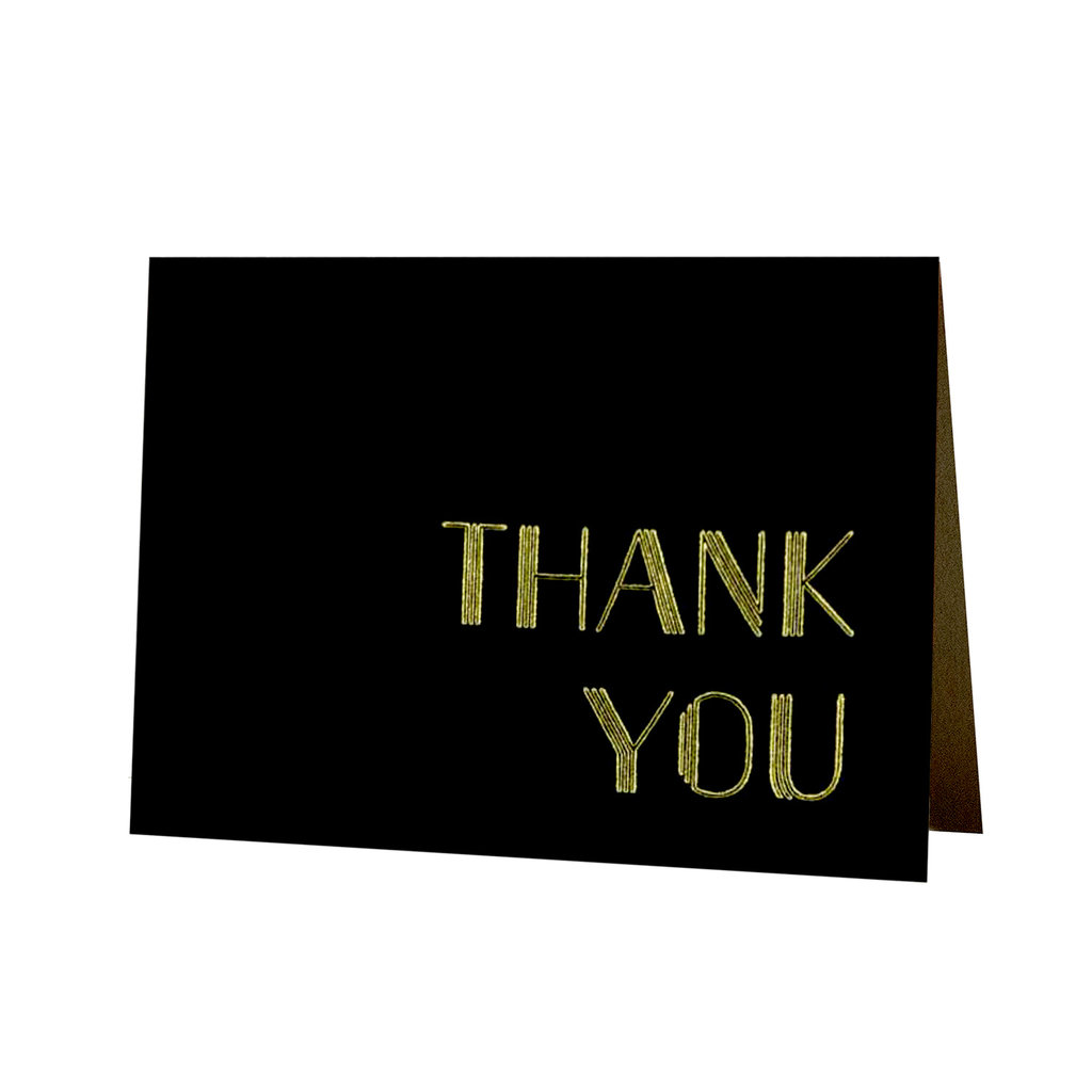Oblation Papers & Press Gold Deco Thank You