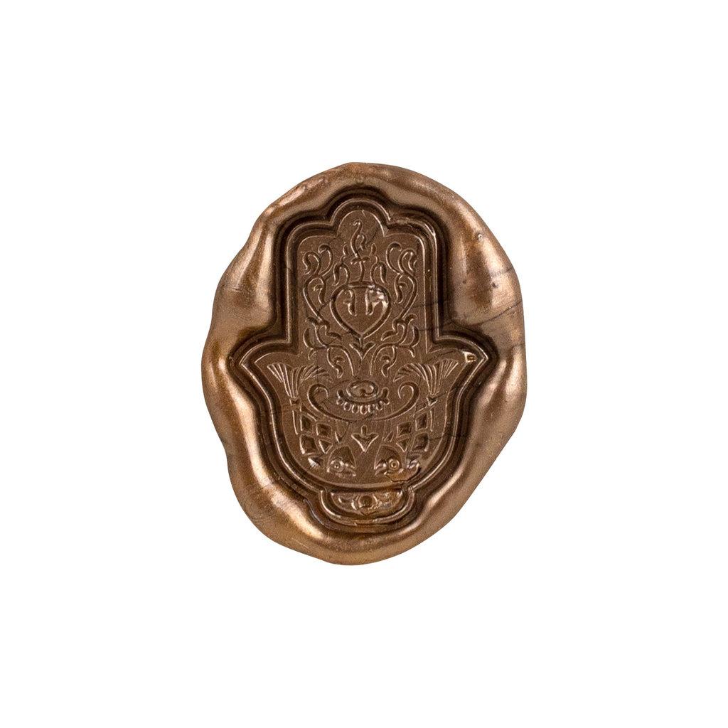 heypenman Hamsa Amulet Wax Seal Stamp