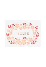 Ilee Papergoods Flowers I Love U Enclosure