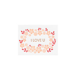Ilee Papergoods Flowers I Love U Enclosure