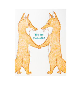 Ilee Papergoods Foxes You Are Fantastic