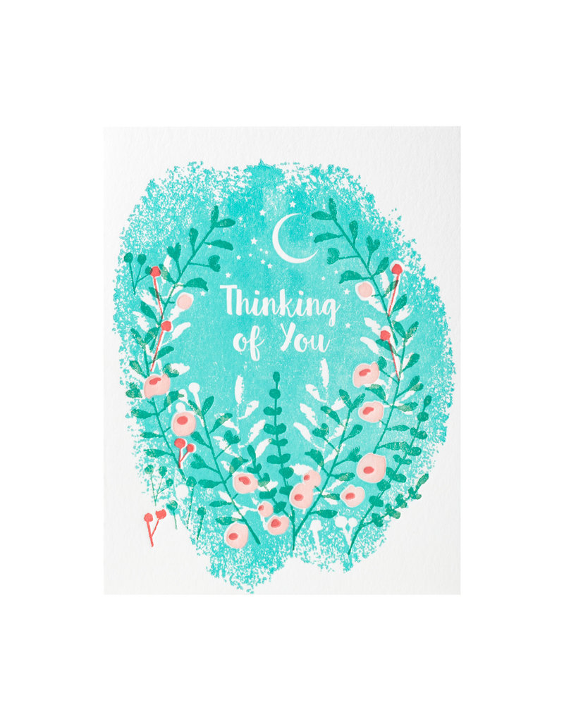 Ilee Papergoods Flowers Thinking Of You