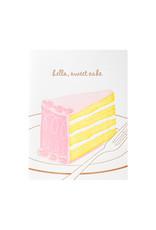 Ilee Papergoods Hello, Sweet Cake