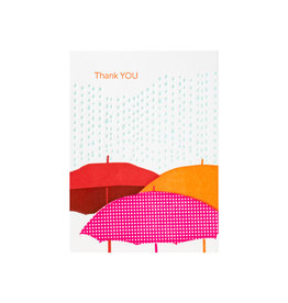 Ilee Papergoods Umbrellas Thank You box of 6