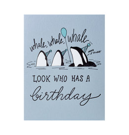 Wild Ink Press Whale Whale Whale Birthday