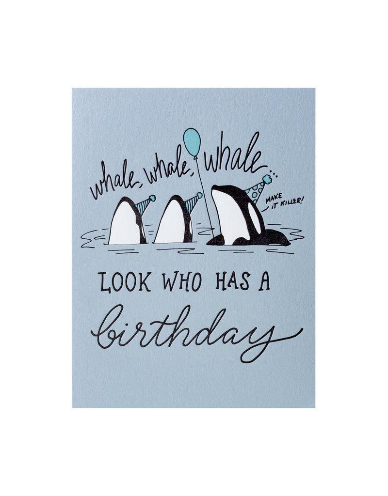 Wild Ink Press Whale Whale Whale Birthday
