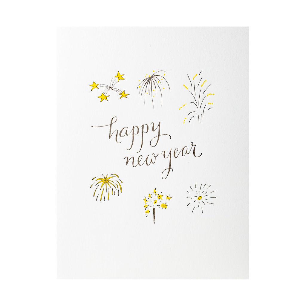 Wild Ink Press Happy New Year Fireworks
