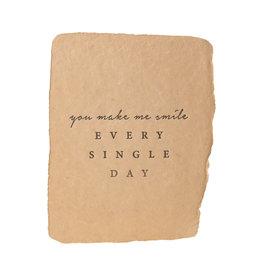 Paper Baristas You Make Me Smile Every Single Day