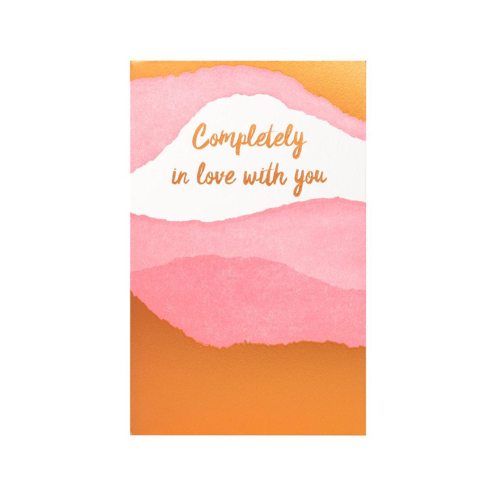 Anemone Letterpress Completely In Love Letterpress Card