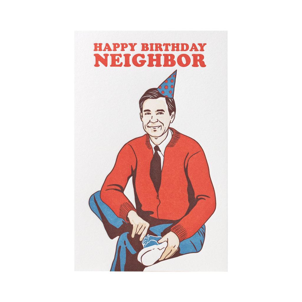 Pike Street Press Happy Birthday Neighbor