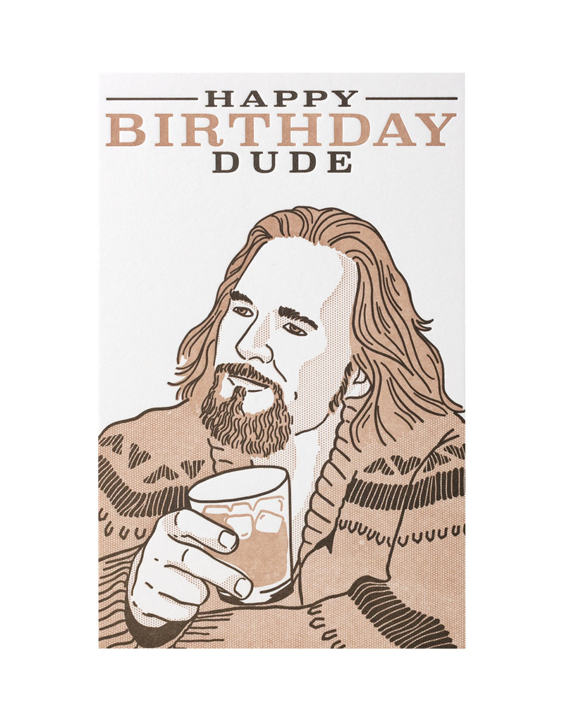 Pike Street Press Happy Birthday Dude