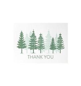 Pike Street Press Thank You Trees Overprint Box of 6