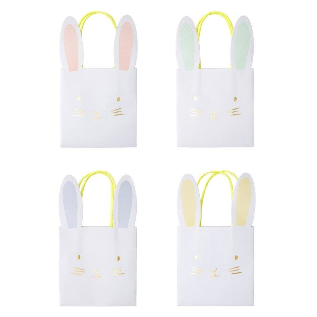 Meri Meri Pastel Bunny Party Bags - Set of 8