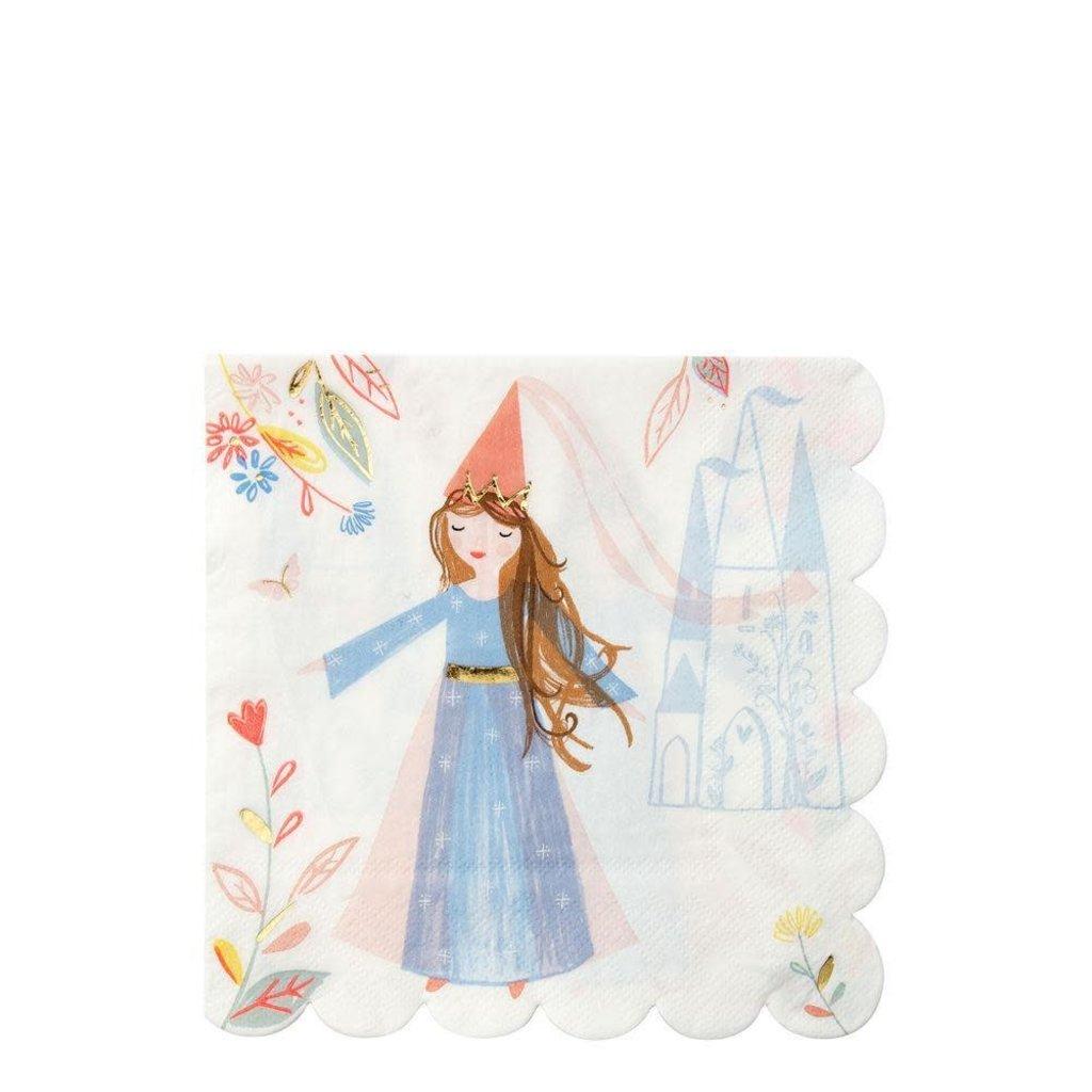 Meri Meri Magical Princess Large Party Napkins